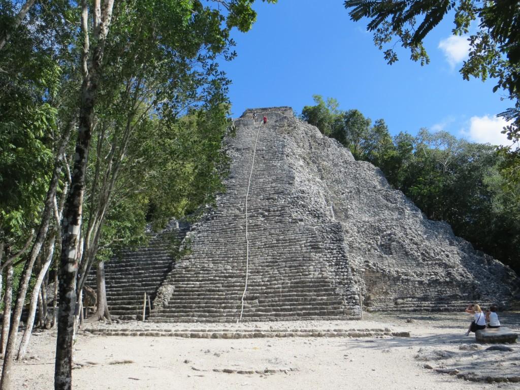 Mexiko Ruinen Coba