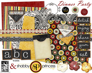 Dinner Party von Shabby Princess