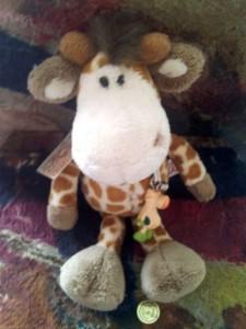 Giraffen-Glücksbringer zum Abi