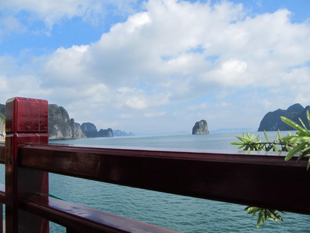 Ausblick Halong Bucht