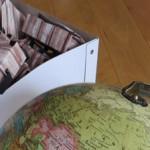Origami Reisekoffer: Schöne DIY-Gastgeschenke