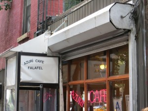 Falafel im Azuri Cafe