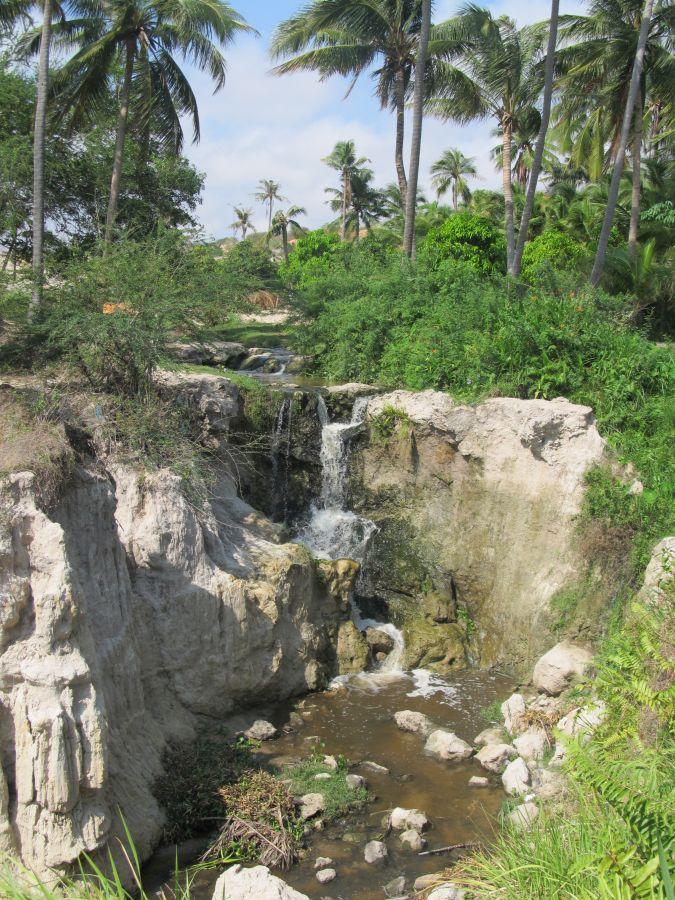 Wasserfall am Ende des Märchenwegs