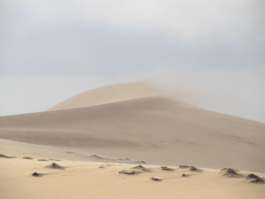 Weiße Sanddünen