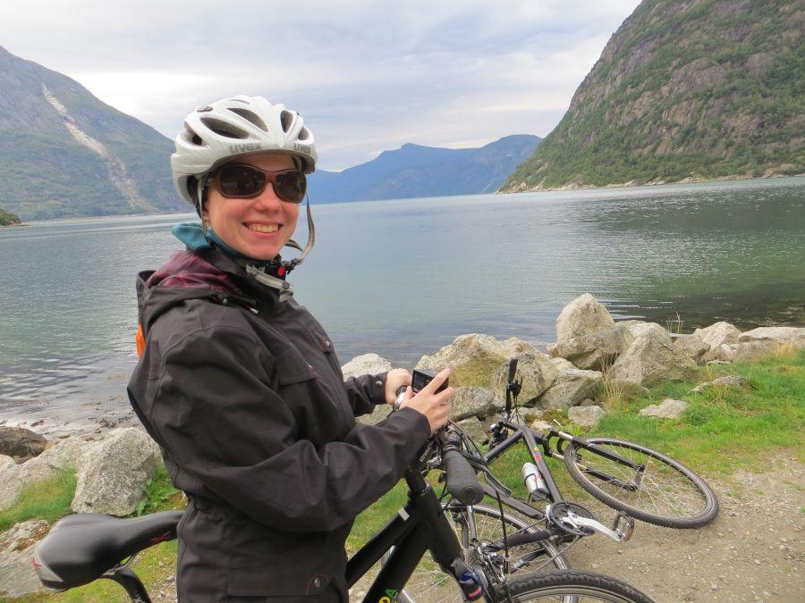 Aida Fahrradtour in Norwegen