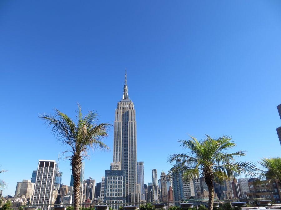 Blick vom 230 Fifth auf das Empire State Building