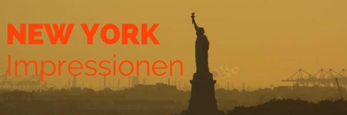 New York Impressionen