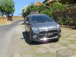 Unser Mietwagen auf Bali