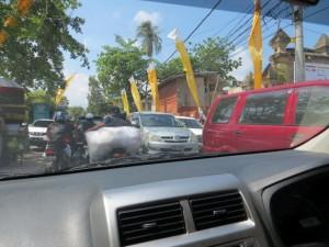 Einblick in den Verkehr