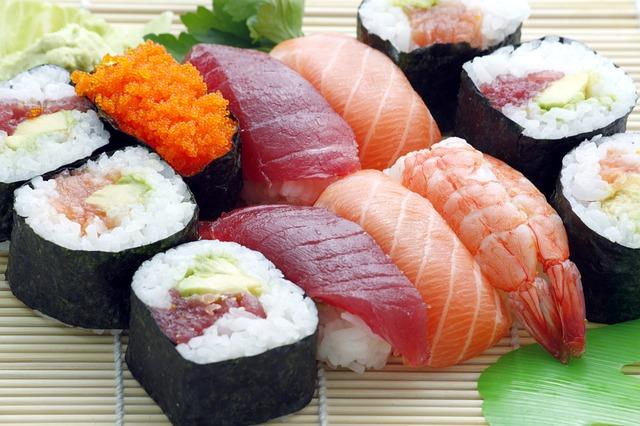 Feines Sushi