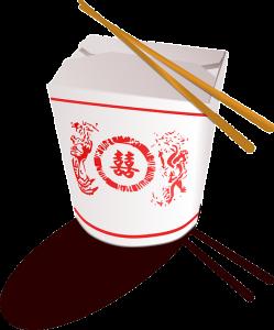 Asiatischer Mitternachtssnack