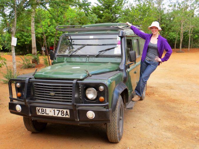 Unser Safari-Fahrzeug