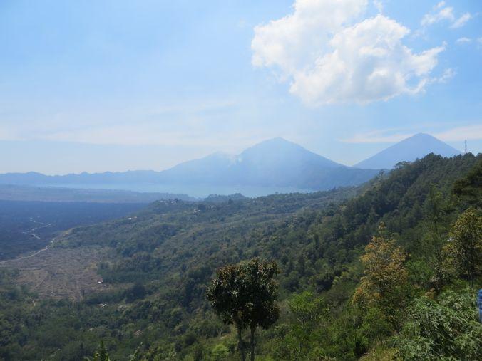 Aussicht auf die Vulkane