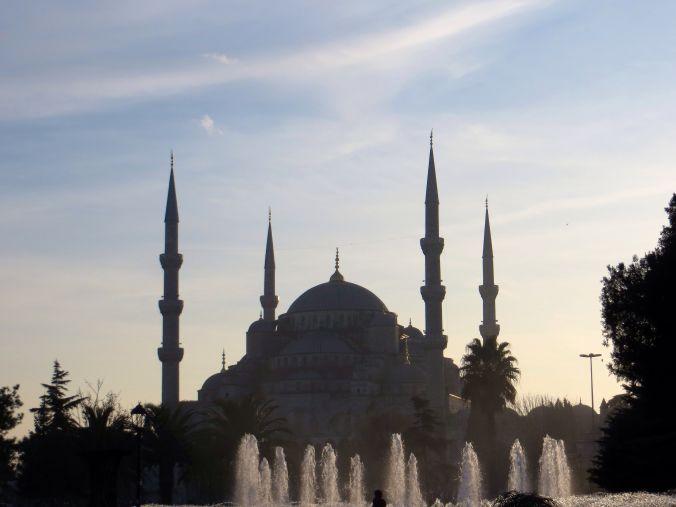 Wunderschöne Blaue Moschee