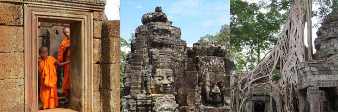 Tempel außerhalb von Angkor Wat