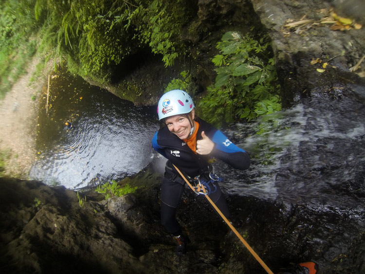 Canyoning: Großer Spaß