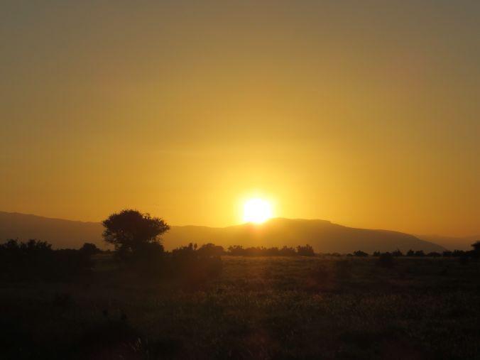 Sonnenuntergang: so romantisch