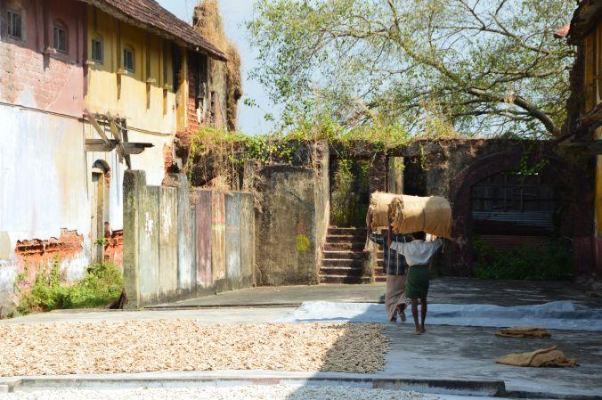 Gewürzmarkt in Kochi