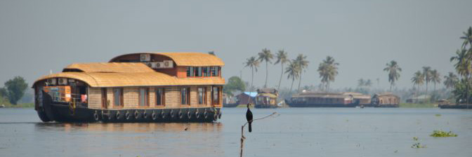 Kerala Backwaters - Hausboot Vergleich