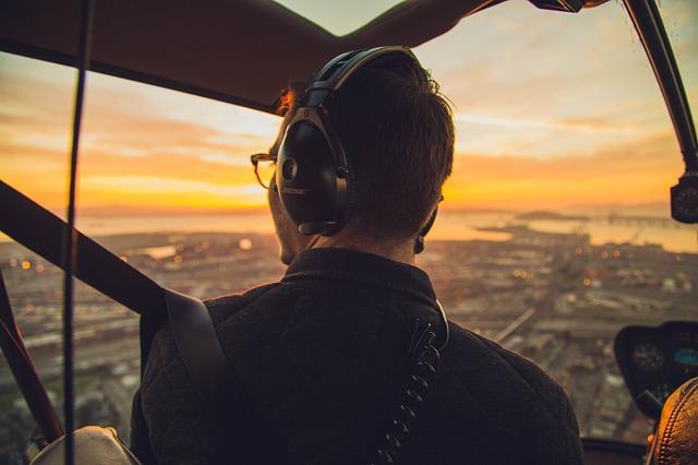 Heiratsantrag im Hubschrauber
