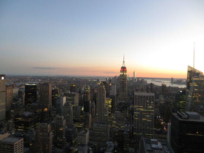 NY Skyline musste auf uns warten