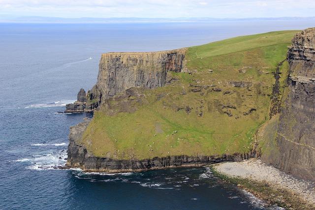 Klippen in Irland