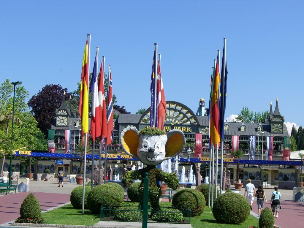 Europapark Eingang