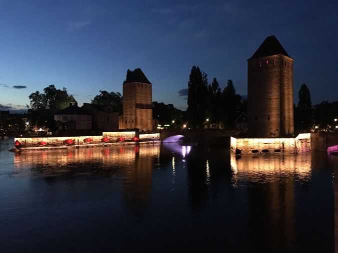 Straßbourg bei Nacht