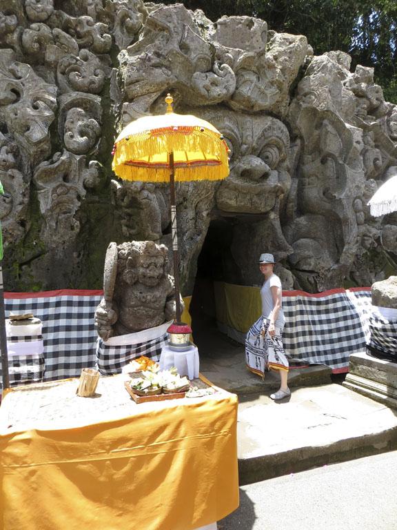 Eingang Goa Gajah