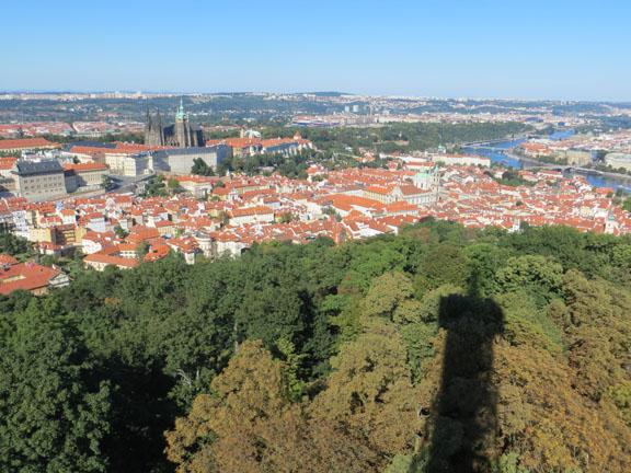 Aussicht vom Petrin-Tower