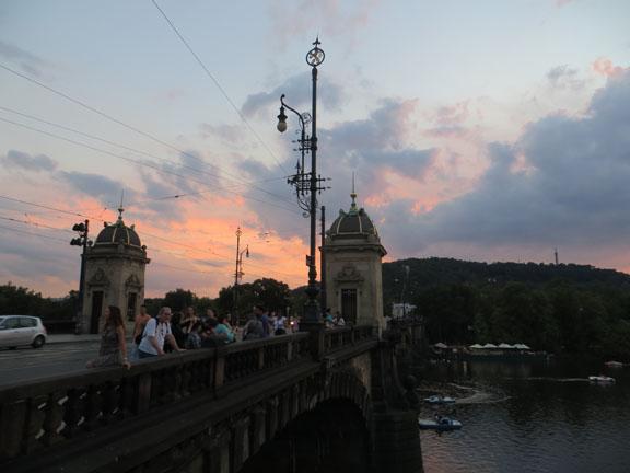 Brücken im Abendlicht