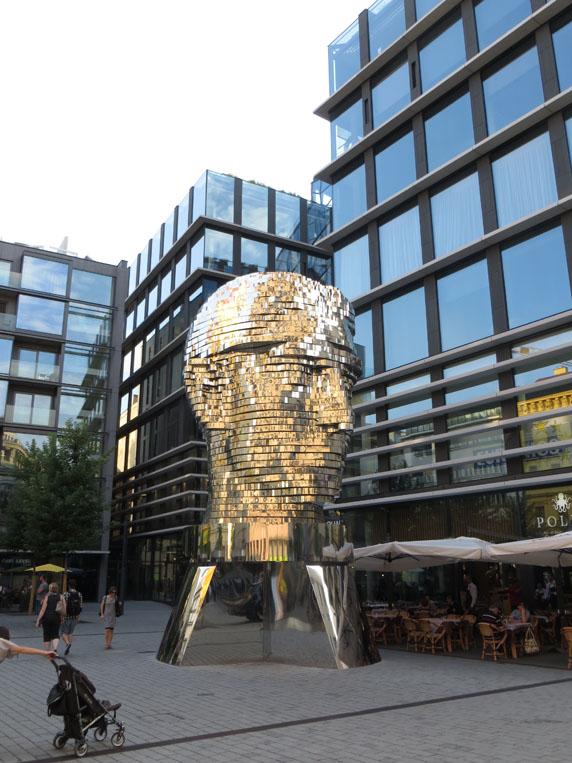 Kafka Kopf in Prag