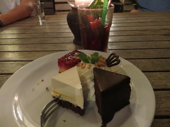 Nachtisch-Platte