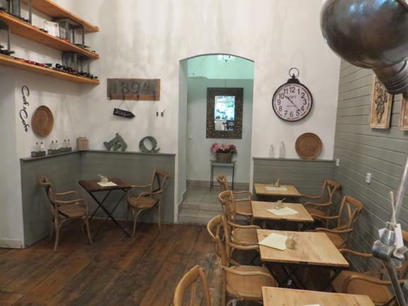 Innenbereich des Cafés