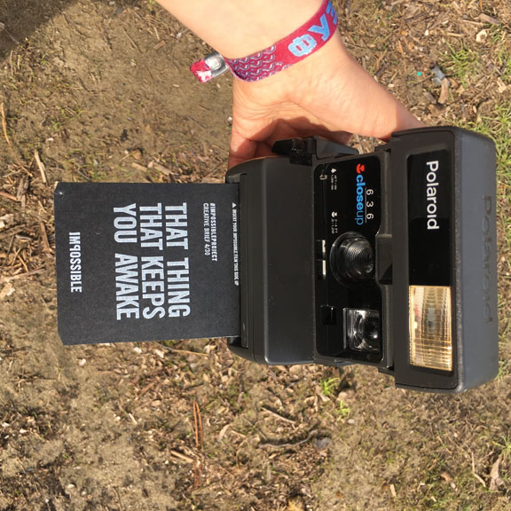 Geniale Idee: Polaroid Erinnerungen