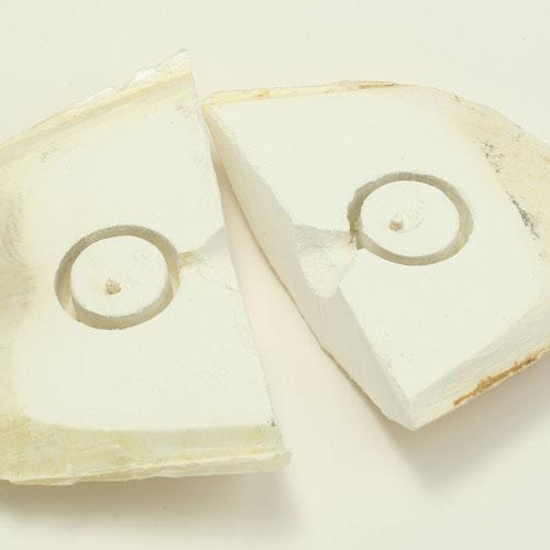 Gussform aus Tintenfisch-Knochen | © Birgit Okulla