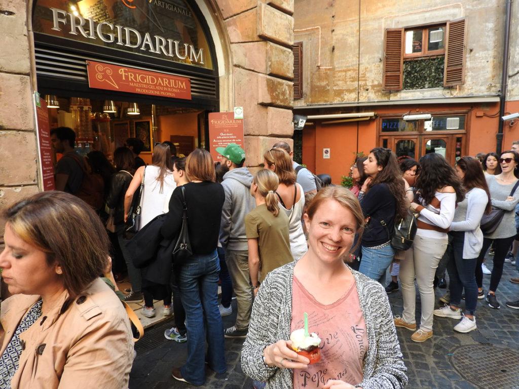 Bestes Eis ever: Frigidarium