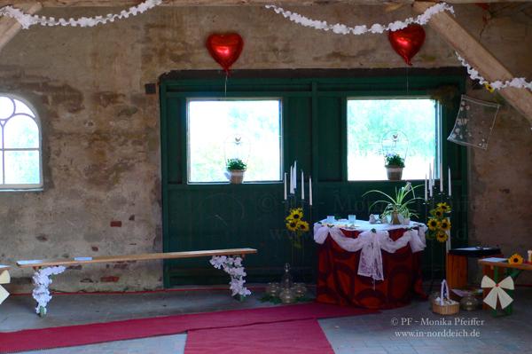Scheune als Hochzeitslocation