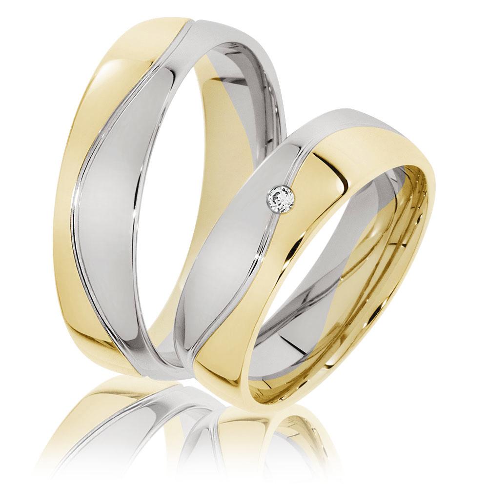 Zweifarbige Ringe Freising