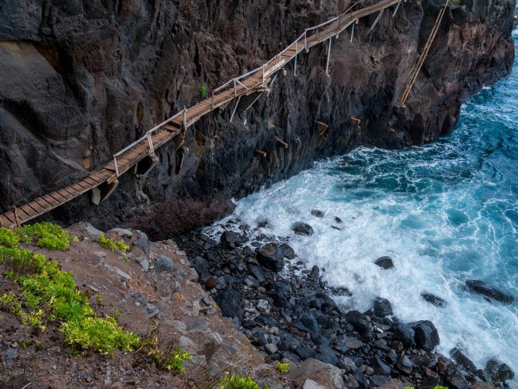 Madeira Urlaub: Fischerbrücke von Sao Jorge
