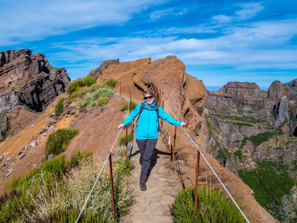 Madeira Urlaub: Kammwanderung am Pico Ariero